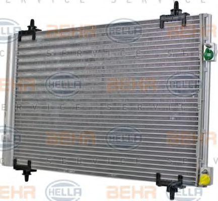 Радиатор кондиционера HELLA 8FC351317561