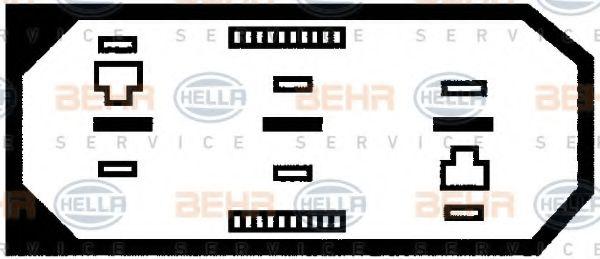 Вентилятор HELLA 8EW009144581