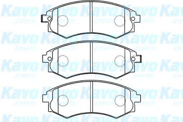 Тормозные колодки дисковые  арт. BP3025