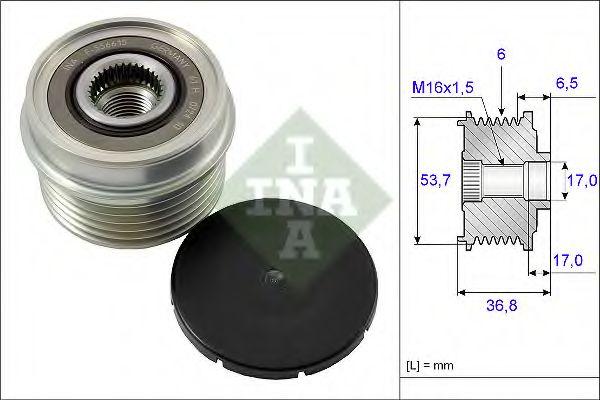 Механизм свободного хода генератора FORD (пр-во Ina)                                                 в интернет магазине www.partlider.com