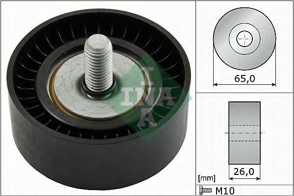 Паразитный / ведущий ролик, поликлиновой ремень VAG (Пр-во Ina)                                      INA арт. 532047910