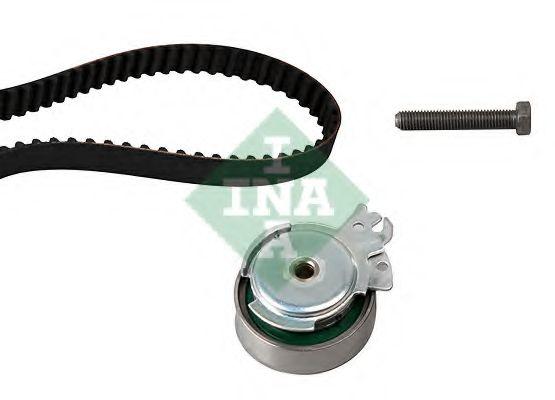 Комплект ГРМ (ремінь + ролик) INA 530000410