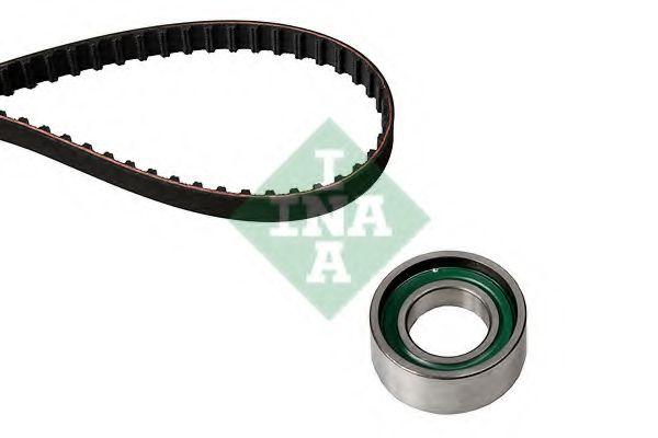 Комплект ГРМ Роликовий модуль натягувача ременя (ролик, ремінь) INA арт. 530020610