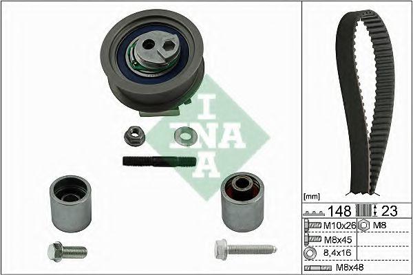 Комплект ГРМ INA 530044510