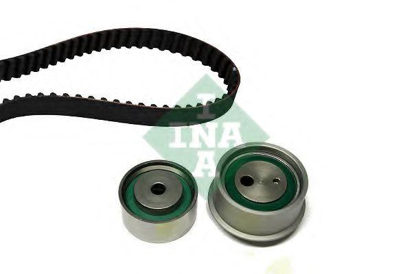 Комплект ГРМ (ремінь + ролик) INA 530033010