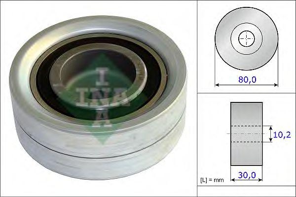Направляющий ролик INA 532058210