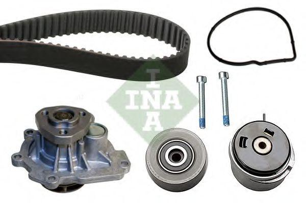 Водяной насос + комплект зубчатого ремня INA 530045030