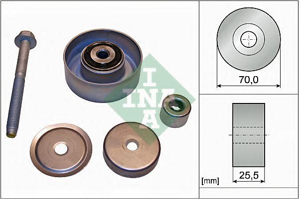 Паразитный / ведущий ролик, поликлиновой ремень INA арт. 532066510