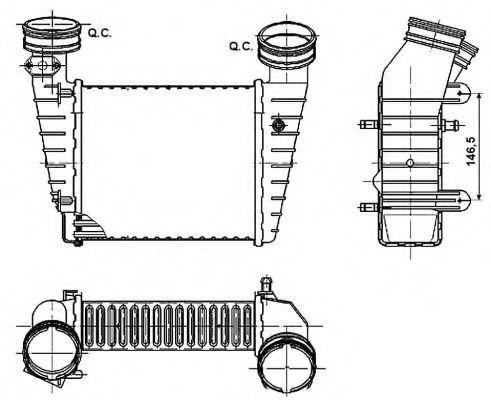 Интеркулер Интеркулер NRF арт. 30147A