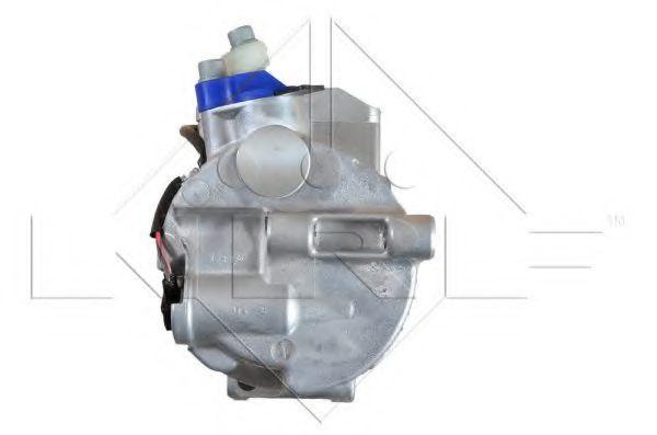 Компресор кондиціонера DB C-class (W203), Vito 2.3-3.7i CDI 00-07 (діаметр шківа 110мм)  NRF 32214