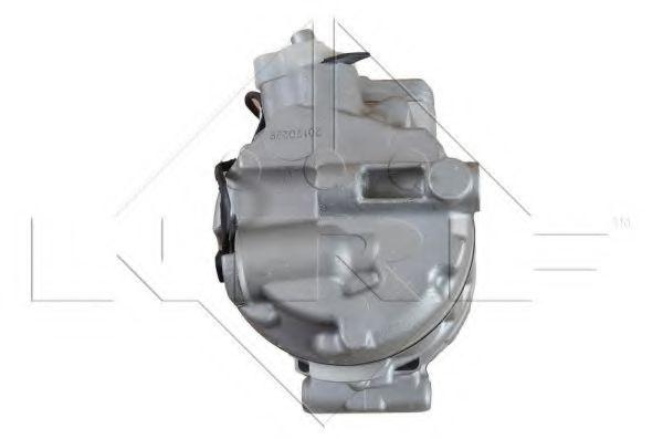 Компресор кондиціонера DB C-class (W203), Vito 2.3-3.7i CDI 00-07 (діаметр шківа 100mm)  NRF 32256