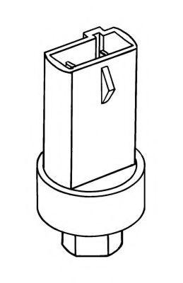 Датчик давления кондиционера Пневматический выключатель, кондиционер NRF арт. 38906