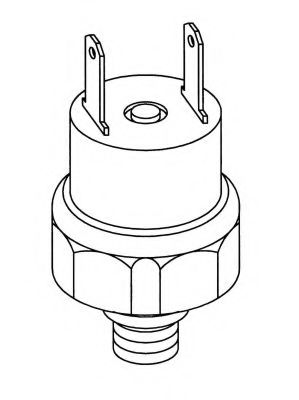 Датчик давления кондиционера Клапан управління тиском NRF арт. 38914