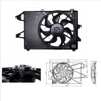 Вентилятор охлаждения радиатора NRF 47005