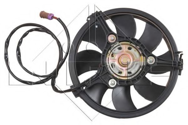 Вентилятор радиатора AUDI A4 94- (пр-во NRF)                                                         в интернет магазине www.partlider.com