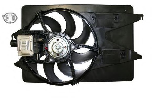 Вентилятор охлаждения радиатора NRF 47262