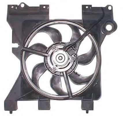 Вентилятор радиатора CITROEN Berlingo 96- (пр-во NRF)                                                в интернет магазине www.partlider.com