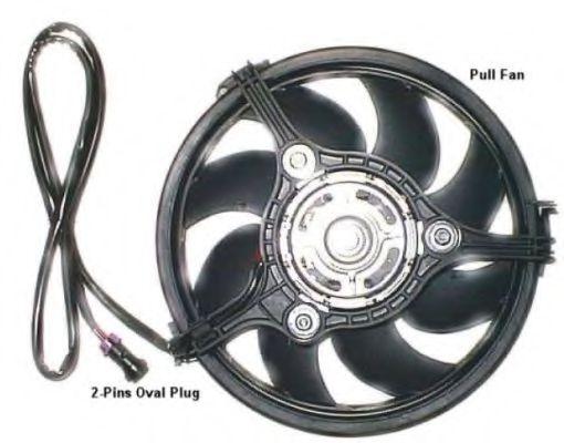 Вентилятор охлаждения радиатора NRF 47384