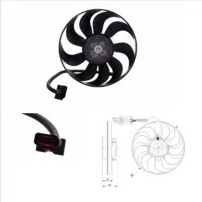 Вентилятор NRF 47398