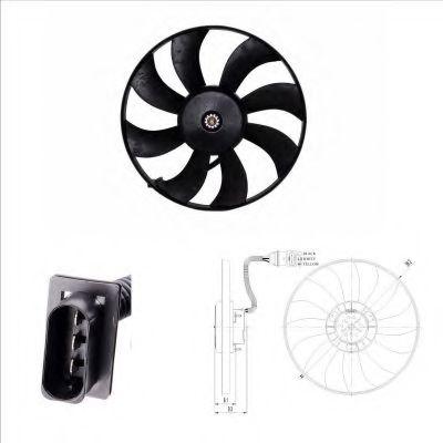 Вентилятор охлаждения радиатора NRF 47410