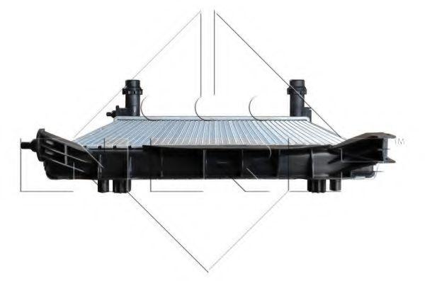 Радиатор охлаждения двигателя AUDI A4 00- (пр-во NRF)                                                в интернет магазине www.partlider.com