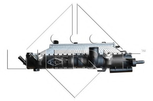 Радіатор охолодж. двигуна OPEL ASTRA G 1,6/ 1,6 16V/ 1,8 16V/ 2,2 16V NRF 50562