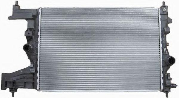 Радіатор охолодження (MT) OPEL ASTRA J 1.3D/1.7D 12.09- NRF 53142