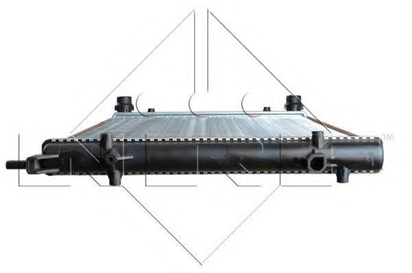 Радіатор охолодж. двигуна VAG 1.4-2.5 02.03- NRF 53404