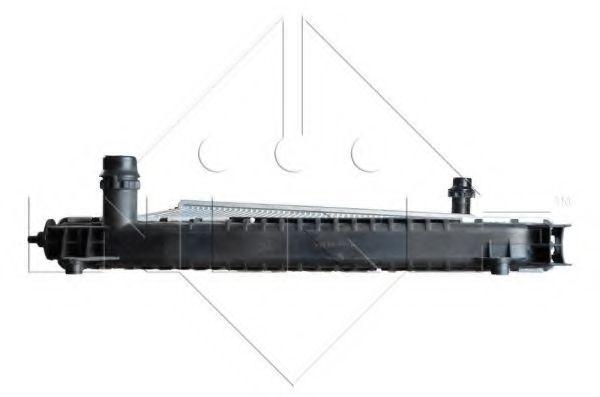 Радіатор охолодження Audi A6 2.5D/2.7 97-05 NRF 53443
