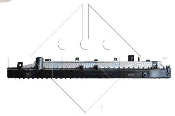 Радиатор охлаждения двигателя  арт. 53481