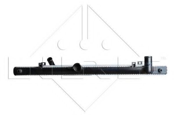 Радиатор охлаждения двигателя NRF 53754