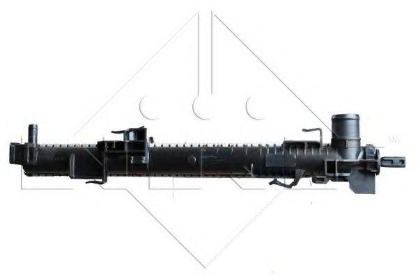 Радиатор охлаждения двигателя NRF 53966