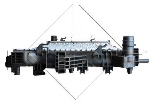 Радиатор охлаждения двигателя NRF 54202