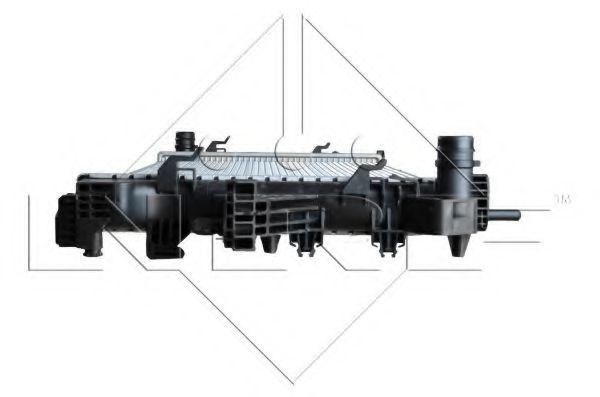 Радиатор охлажения Fiat Ducato 06- NRF 54203