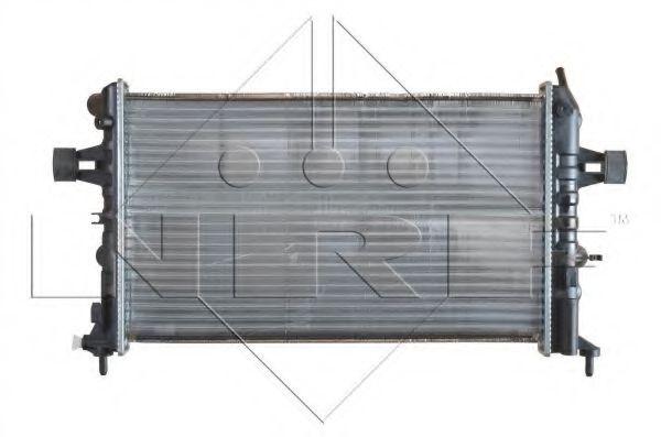 Радіатор охолодж. двигуна OPEL ASTRA G 1.4 16V, 1.6, 1.6 16V, 1.8 16V NRF 54668A
