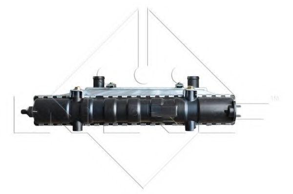 Радіатор охолодж. двигуна VW CADDY II 1.0/1.3/1.9D 03.93-01.04 NRF 54688