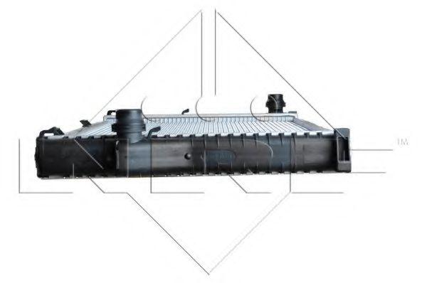Радиатор охлаждения двигателя NRF 55321