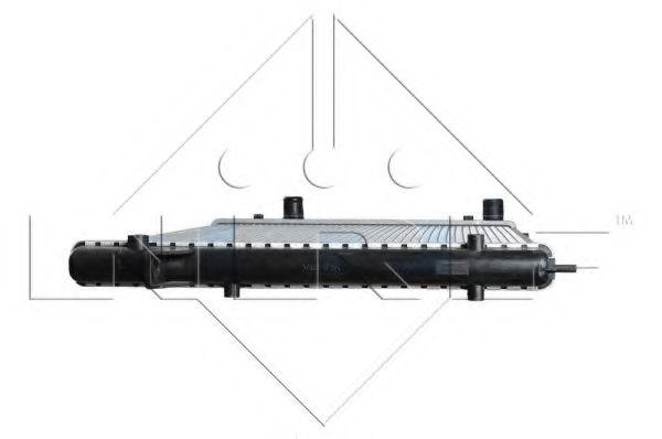 Радиатор охлаждения двигателя NRF 58027