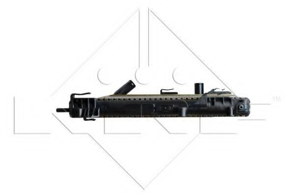 Радиатор охлаждения двигателя DACIA Logan 04- (пр-во NRF)                                            в интернет магазине www.partlider.com