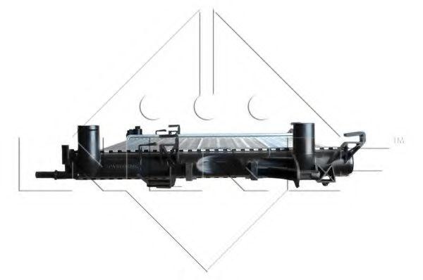 Радіатор охолодж. двигуна Renault Laguna II 1.6-1.8-2.0-1.9 dCi 01- NRF 58318