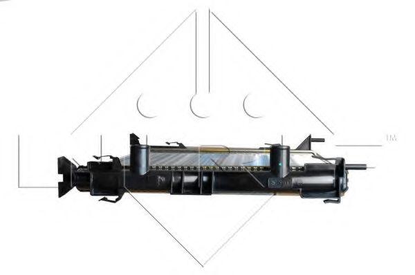 Радиатор охлаждения двигателя NRF 58328