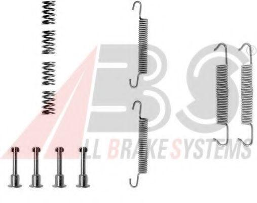 Монтажный к-кт торм. колодок BMW HAND BRAKE (пр-во ABS)                                               арт. 0621Q