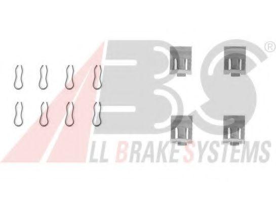 Комплектующие, колодки дискового тормоза  арт. 1055Q