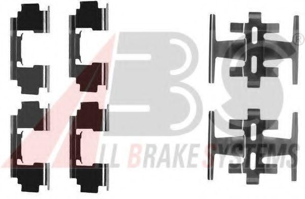 Комплектующие, колодки дискового тормоза  арт. 1088Q