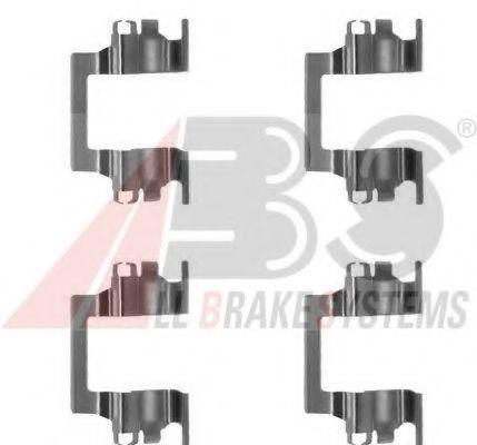Комплектующие, колодки дискового тормоза  арт. 1117Q