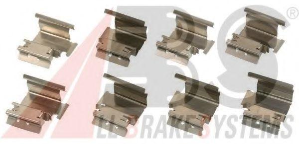 Комплектующие, колодки дискового тормоза  арт. 1218Q