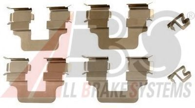 Комплектующие, колодки дискового тормоза  арт. 1245Q