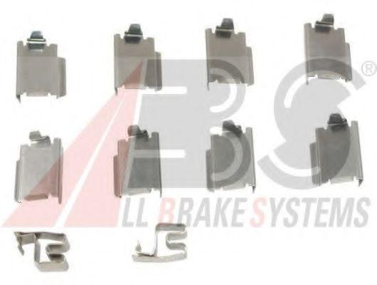 Комплектующие, колодки дискового тормоза  арт. 1246Q