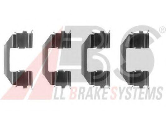 Комплектующие, колодки дискового тормоза  арт. 1258Q