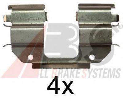 Комплектующие, колодки дискового тормоза  арт. 1285Q